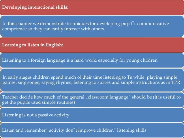 Give 5 factors that can support a pupils development of thinking and learning?