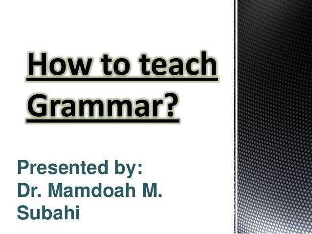 Presented by: Dr. Mamdoah M. Subahi