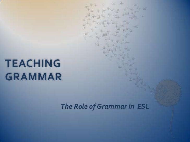 Teaching grammar shpresa detyre