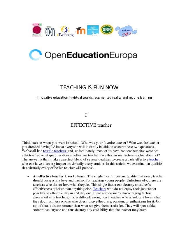 Teaching is fun now.docx 2014