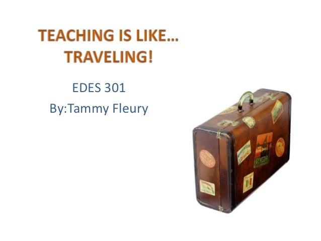 Teaching is like