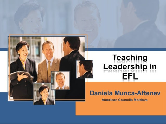 Teaching leadership in efl
