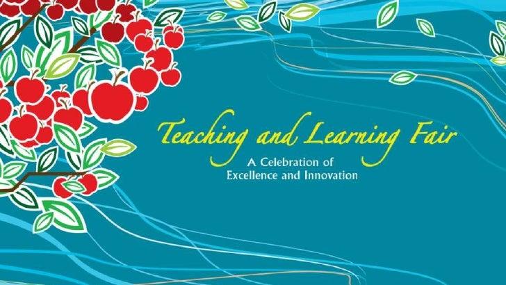 Teaching & Learning Fair (2012) - Ceremony