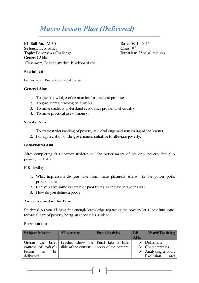 lesson plan in mathematics for high school pdf