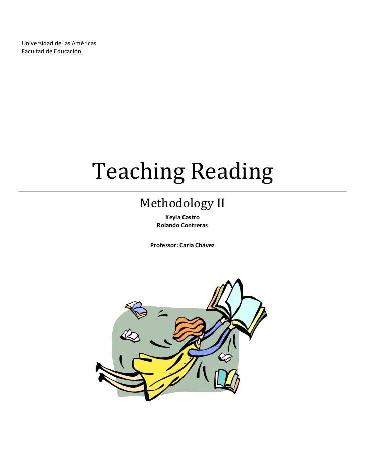 Teaching reading activities (reparado)