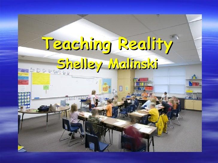 Teaching Reality