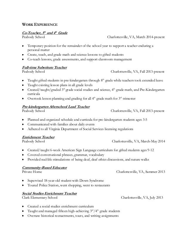 Cover Letter Example Cover Letter For Math Instructor In