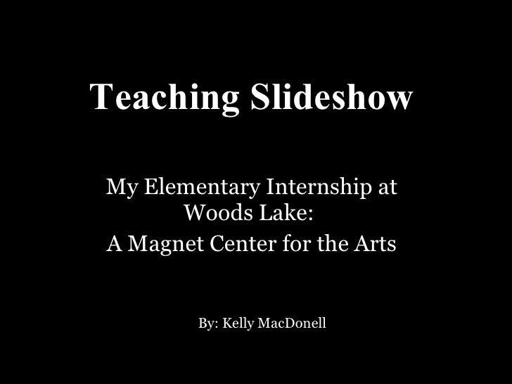 Teaching slideshow