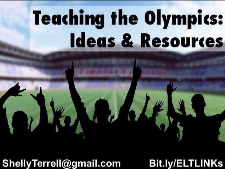 Teaching the Olympics