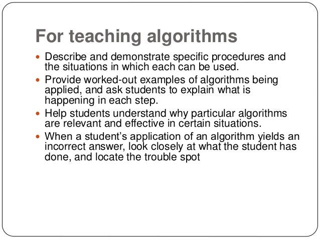 Demonstrated problem solving skills