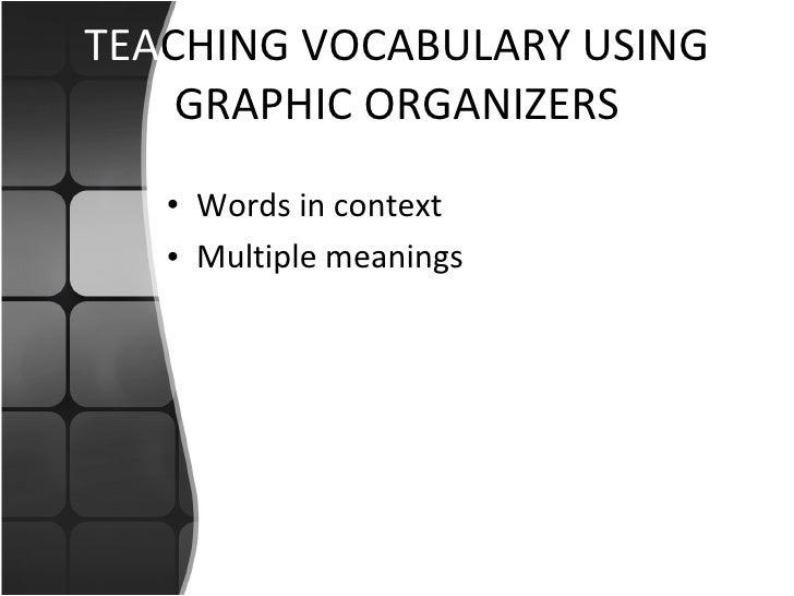 Teaching vocab