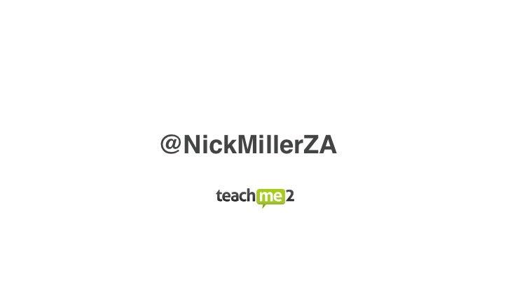 @NickMillerZA