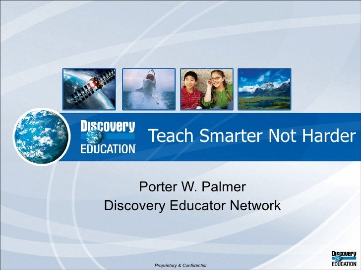 Teach smarter not harder 042410