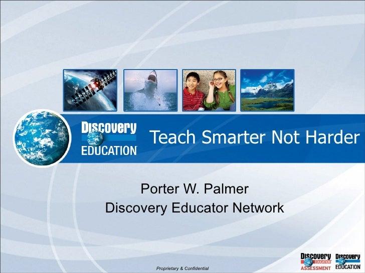Teach smarter not harder 0510