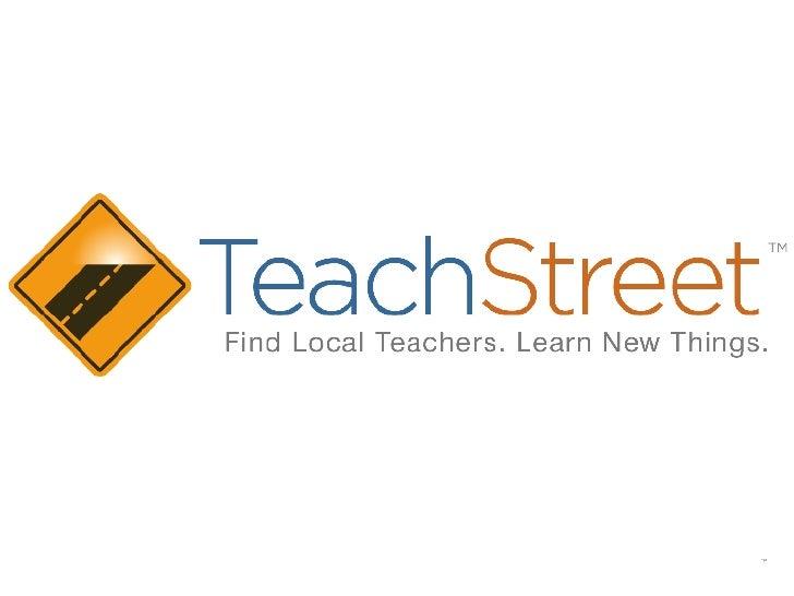 TeachStreet Intro Deck