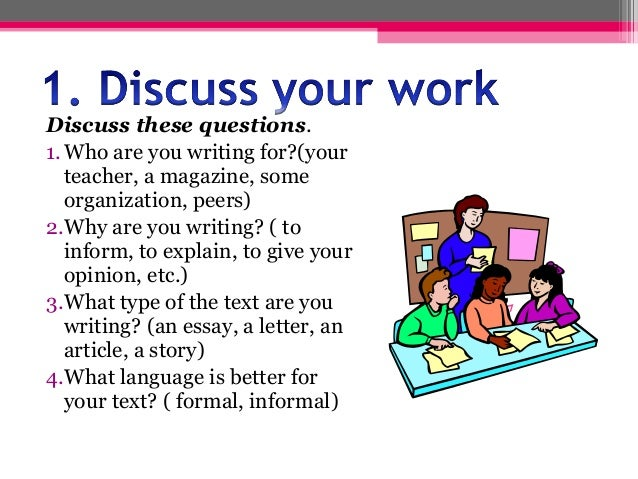 types essays lesson plans