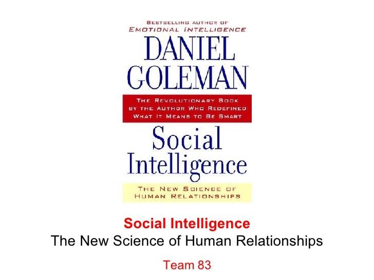 Team 83 Social Intelligence