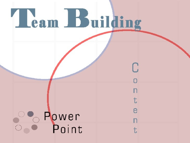 Team Building Power Point