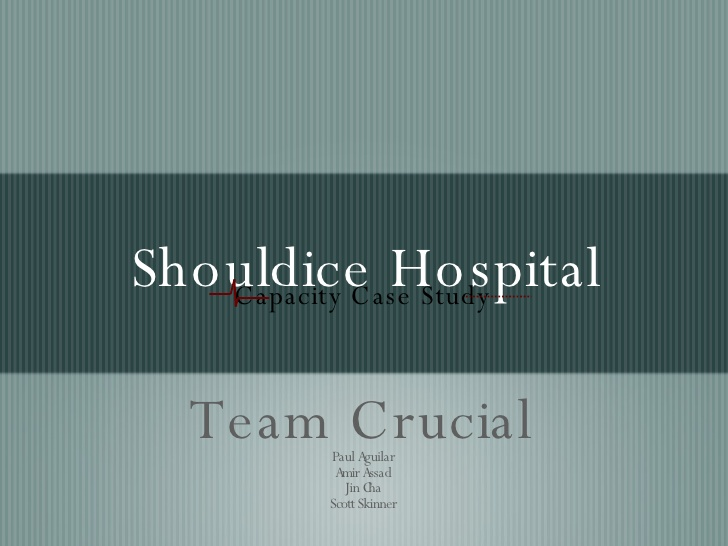 shouldice hospital case study solution