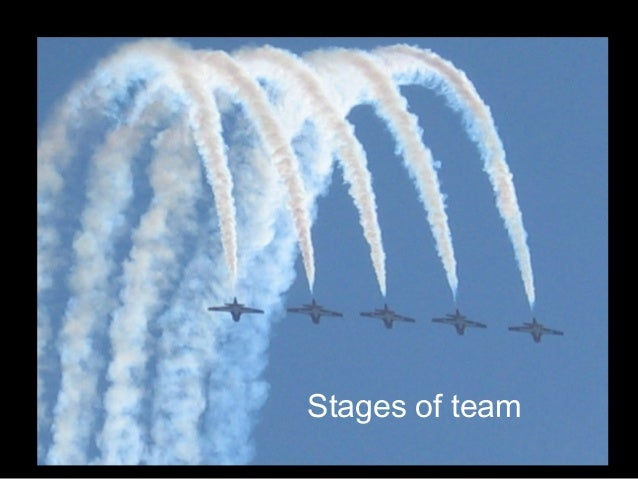 Stages of team