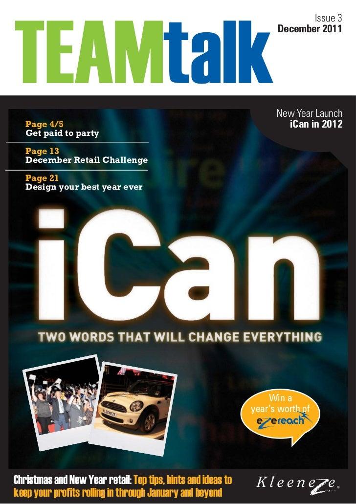 Team talk-issue-3 2012 12