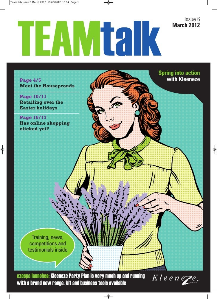 Team talk issue 6 March 2012 15/03/2012 15:54 Page 1                                                                      ...