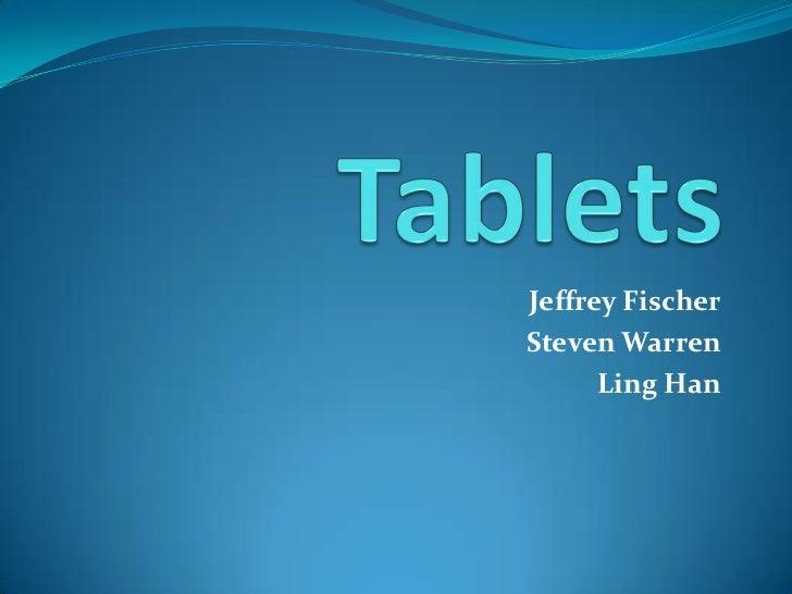 Jeffrey FischerSteven Warren      Ling Han
