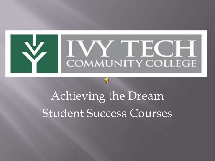 Achieving the DreamStudent Success Courses