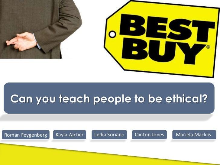 Best Buy Ethics Case