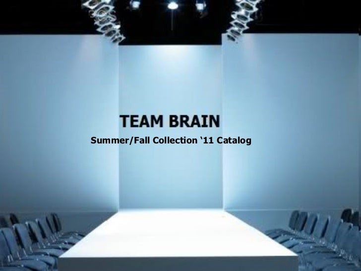 Summer/Fall Collection '11 Catalog