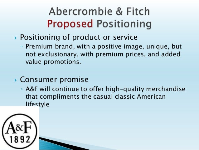abercrombie and fitch executive summary New albany, ohio, february 1, 2017: abercrombie & fitch co (anf) today announced that fran horowitz, president and chief merchandising officer, has been promoted to chief executive officer of the .