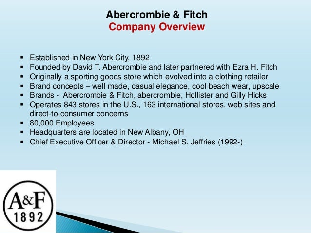 Abercrombie And Fitch Manager Abercrombie Fitch Company