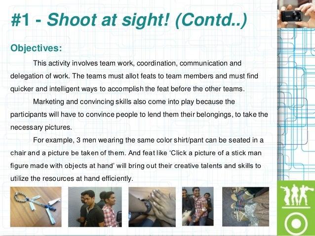 Group Team Building Activities