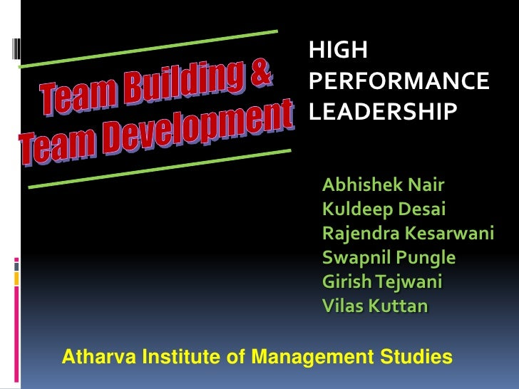 Team building and_development (hpl)