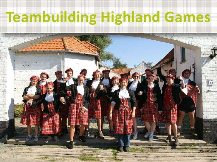 Teambuilding highland games