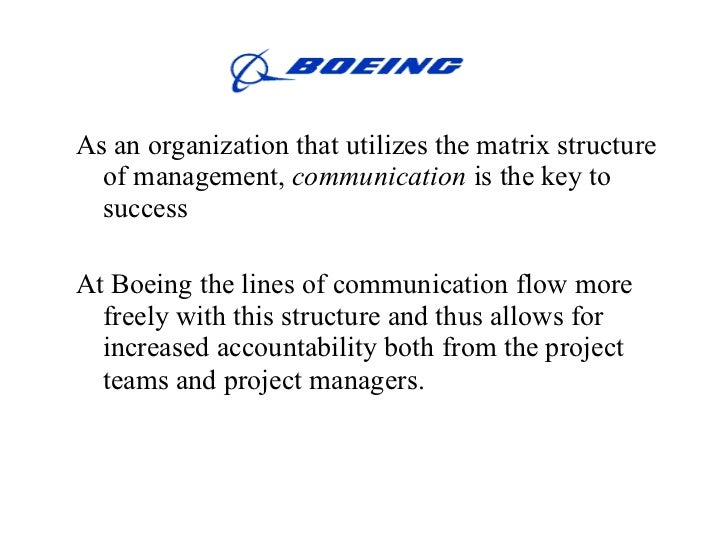 managing organizations boeing essay Why is organizational design important management essay (2008), 'practical approaches to organization design', cma management boeing gathered members of.