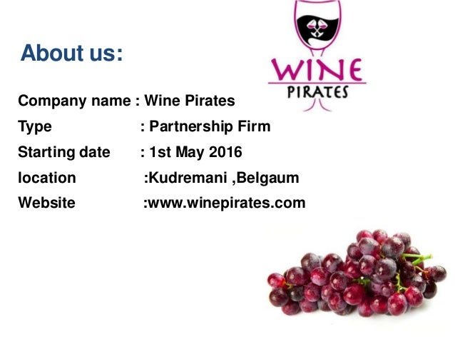Wine business plan