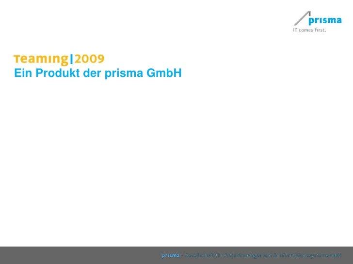 Ein Produkt der prisma GmbH<br />
