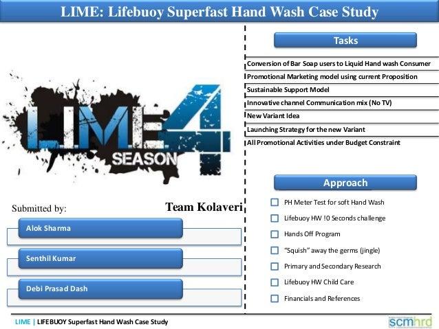 Lifebuoy super fast hand wash case study: LIME-4