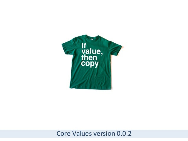 Core	  Values	  version	  0.0.2
