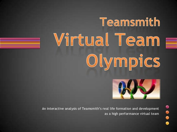 Teamsmith Virtual Team Olympics