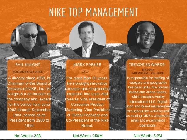 strategic management of nike