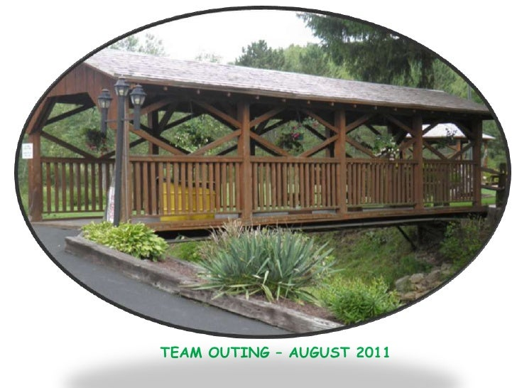 TEAM OUTING – AUGUST 2011<br />