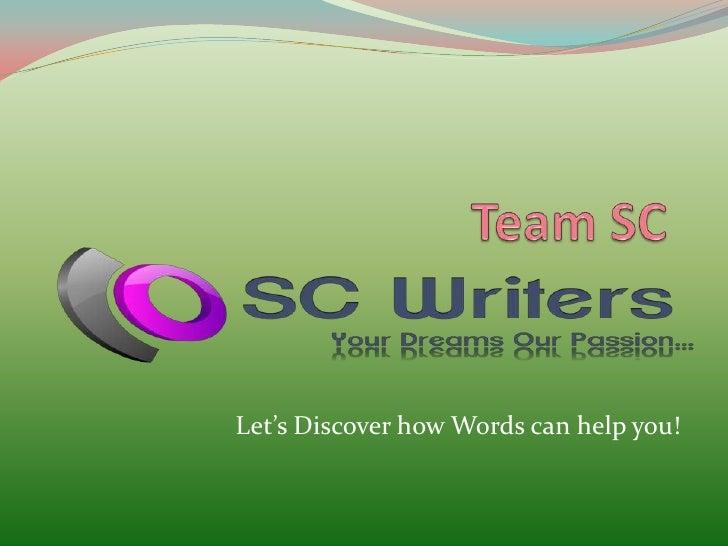 Team sc slide