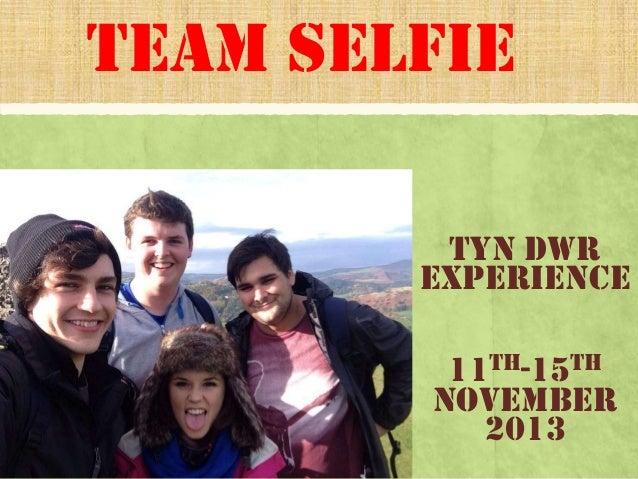 Team selfie final powerpoint add final pic