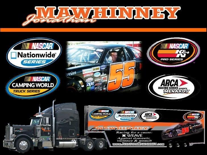 Jonathan Mawhinney Sponsorship *NASCAR K&N Pro Series West