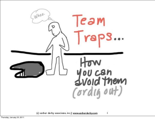 Team traps