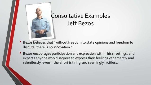 characteristics of business leadership jeff bezos Characteristics of business leadership kenneth j shannon management concepts bus 302 strayer university professor gerard cummings may 28, 2012.
