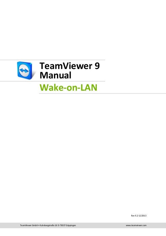 Ligar PC remotamente - TeamViewer