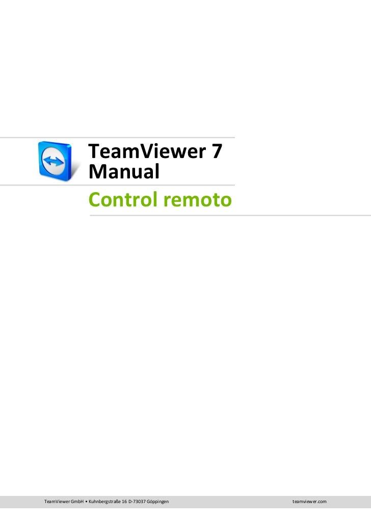 Team viewer7 manual_remotecontrol_es.